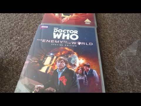 Doctor Who - The Enemy Of The World Special Edition DVD Unboxing