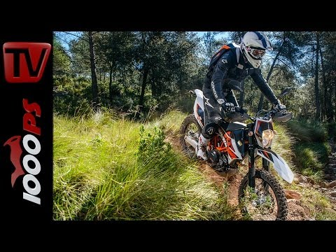 KTM 690 Enduro R 2014 Testvideo- Action, Onboard, Fazit