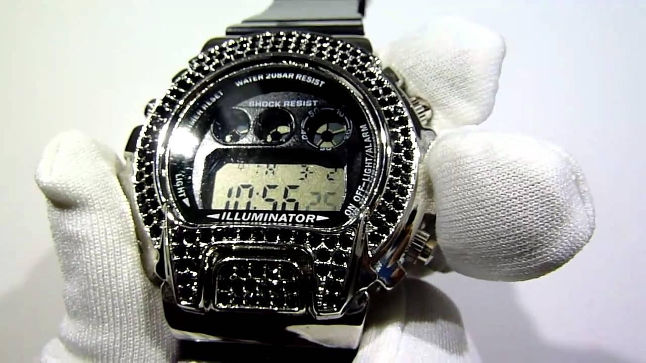 (SOLD) $69 Custom Lab Made Jewelry G-Shock DW6900 type ...