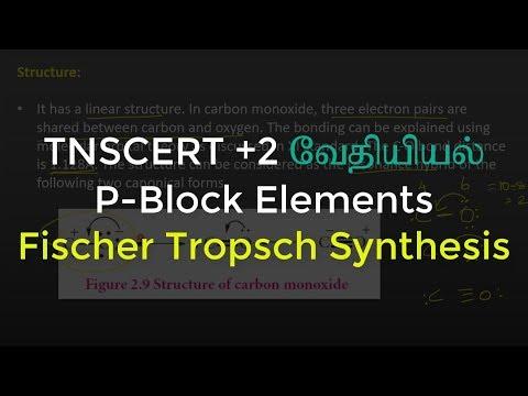 33.Chemistry | P-Block Elements | Fischer Tropsch Synthesis