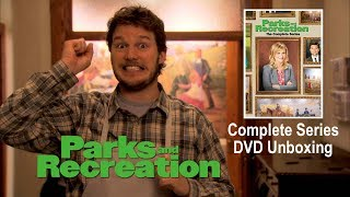 PARKS AND RECREATION Complete Series DVD Unboxing!