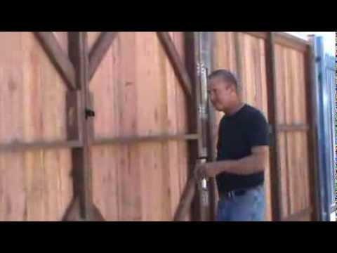 How you Homemade fence swinger