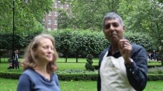 Edward Daniel meets Theresa Webb, Nutritional Therapist Practitioner