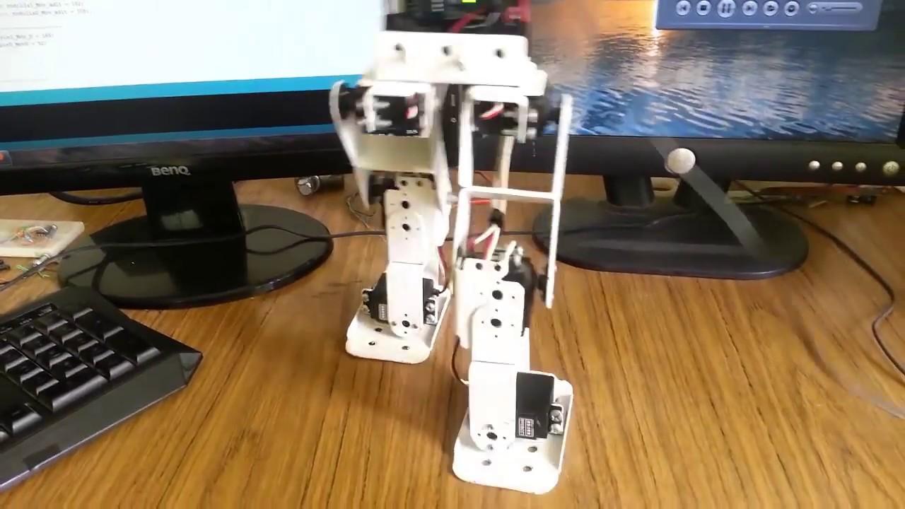 Robot bípedo arduino construccion y programacion lima