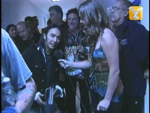 Festival de #ViñadelMar 2008, Backstage Journey, Stefan Krammer