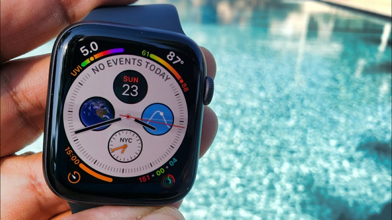 cheaper 7f755 5bef1 2018 @Apple Watch Series 4 LTE Cellular & GPS Pool Test (Watch Before  Getting In The Water)
