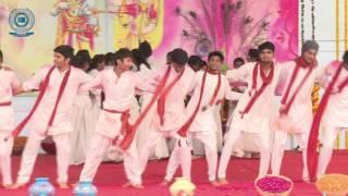 Rang barse bheege chunar wali Song at SGT Unversity