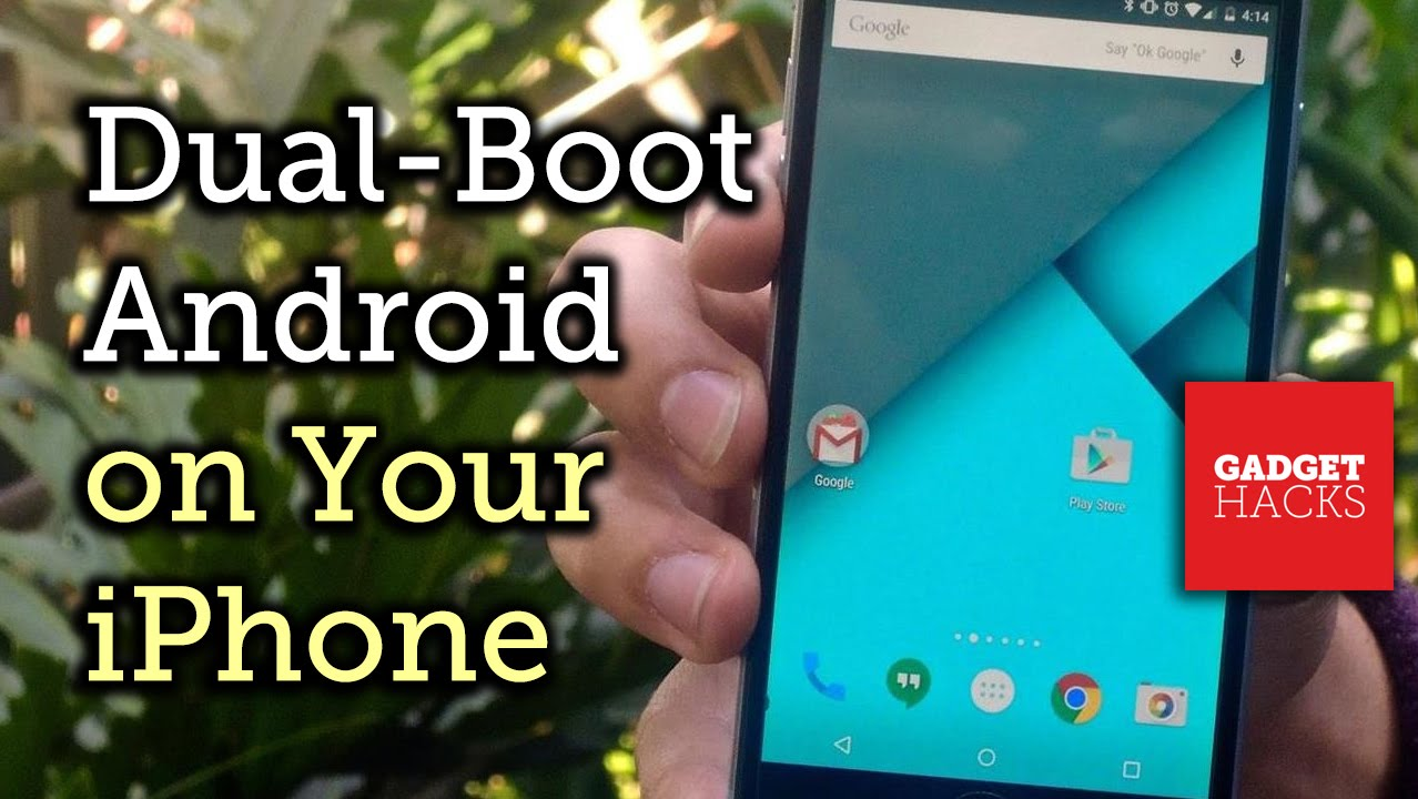 Exclusive! Dual-Boot Android 5 0 on Your iPhone [How-To]