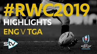 England v Tonga (35-3) | Rugby World Cup 2019 Highlights