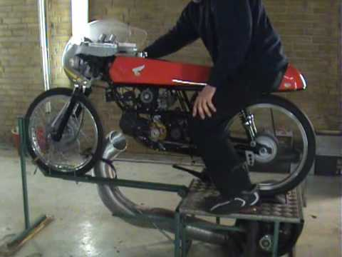 Supercharged Honda 50 Racing