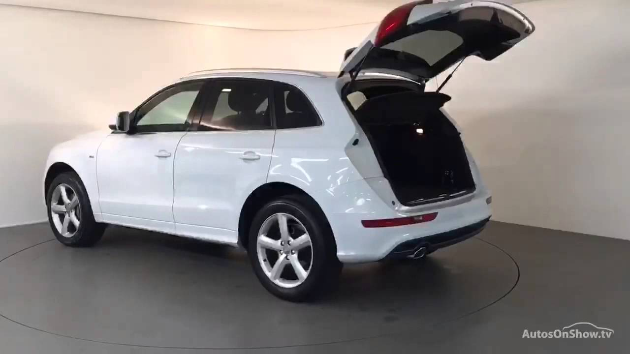 nl62pbv audi q5 tdi quattro s line white 2012 derby audi. Black Bedroom Furniture Sets. Home Design Ideas