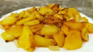 Как пожарить картошку Маленькие секреты идеальной картошки с румяной корочкой