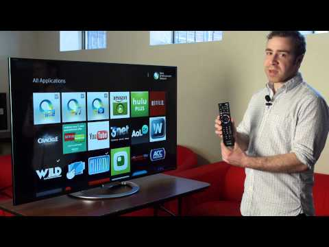 Sony's 2013 Smart TV Platform HandsOn