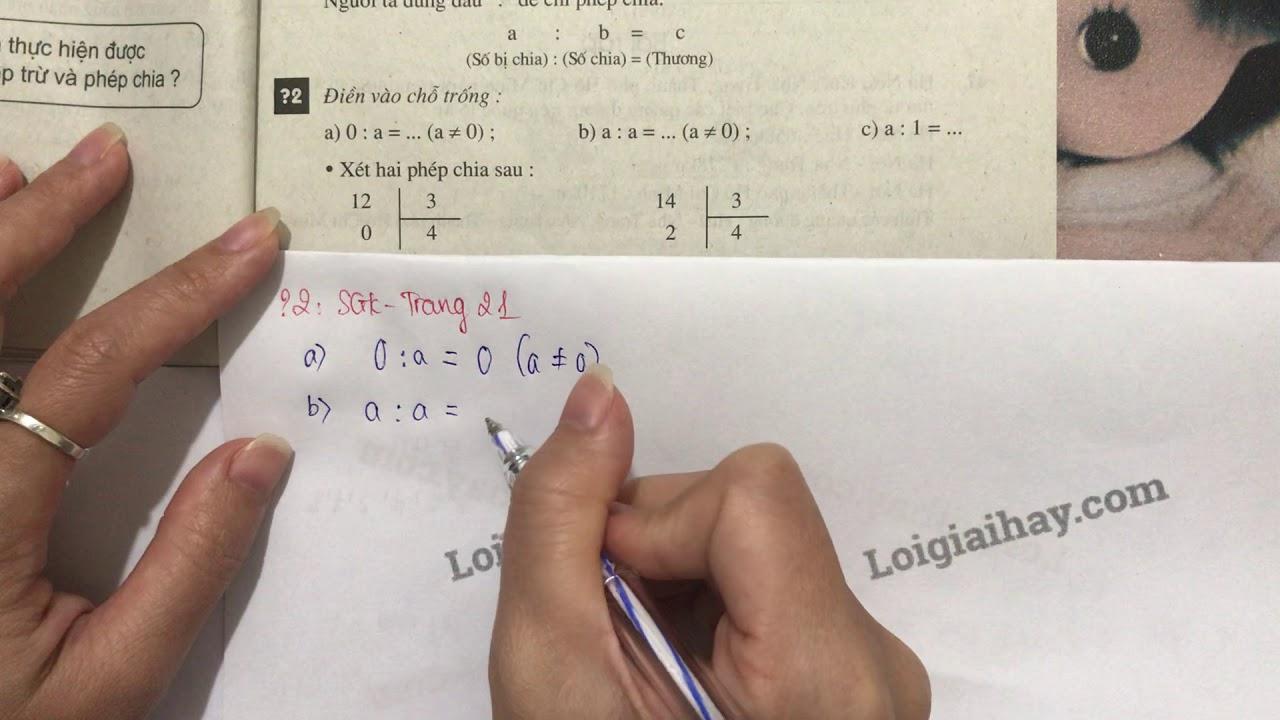 Trả lời câu hỏi 2 bài 6 trang 21 SGK toán 6 tập 1