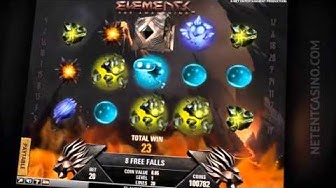 Elements  The Awakening™ Video Slot : New casino game of NetEnt (Release December 2012)