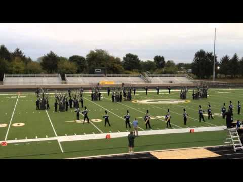 Franklin Community High School Marching Band and Color Guard