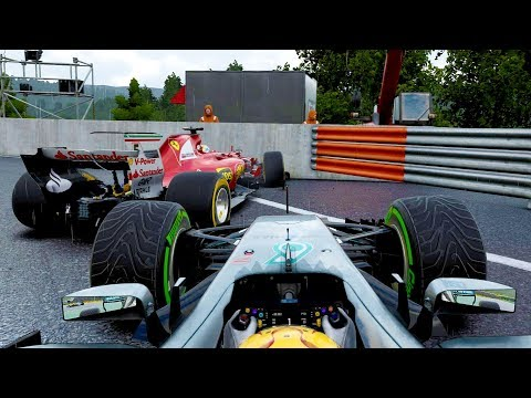 CRASH IN THE PITLANE ENTRY! - F1 2017 Career Mode Part 92