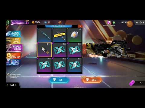 Free fire new weapon royale full rivew with BOOYAH!ARMY