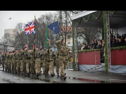 HQ ARRC takes part in Latvian Independence Day Parade in Riga