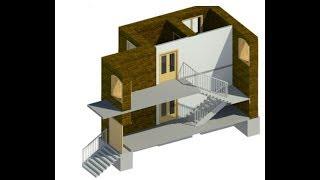 Лестницы по эскизу. Одномаршевые и двухмаршевые: Revit #10