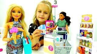Видео для девочек - Ужин для Барби - Игры в куклы