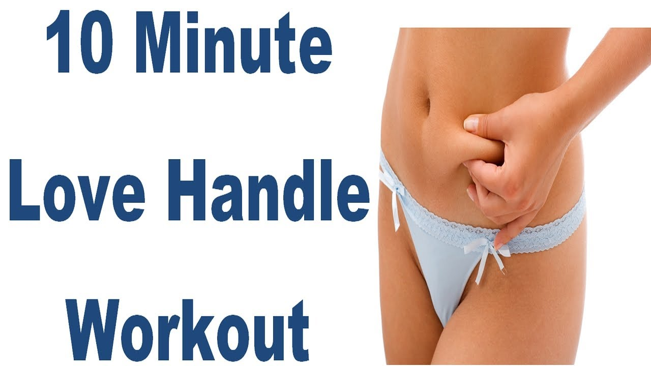 10min. Love Handle Workout. Targets Obliques To Tone Up