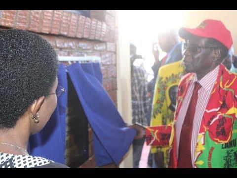 Mugabe Commissions Jahunda CIC in Gwanda