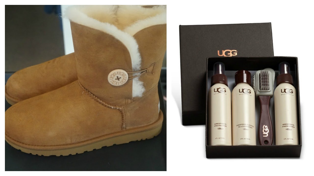 How to Protect   Clean UGG Boots with UGG Kit ♡ - YouTube b323bb6b3