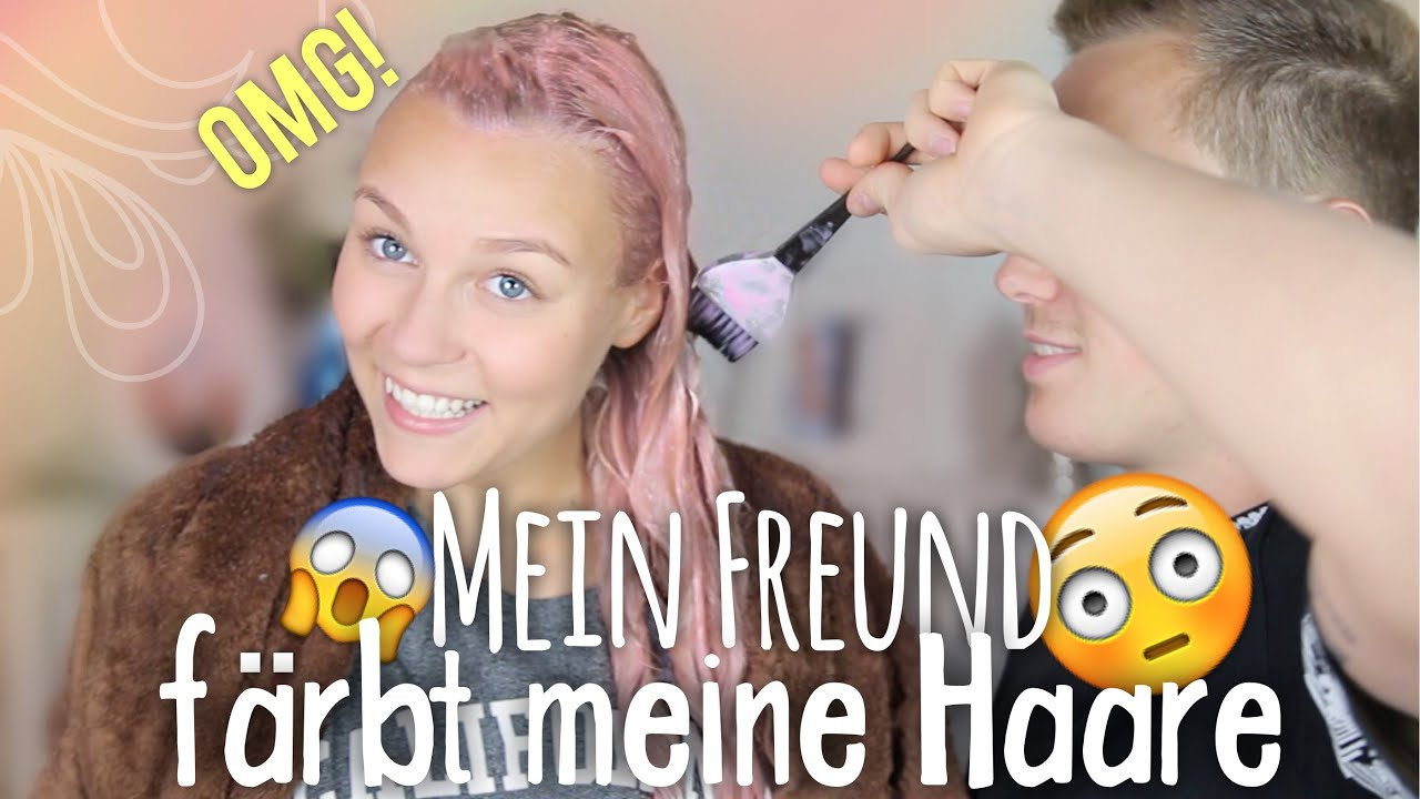 mein freund f rbt meine haare pastell rosa mega fail dagi bee youtube. Black Bedroom Furniture Sets. Home Design Ideas
