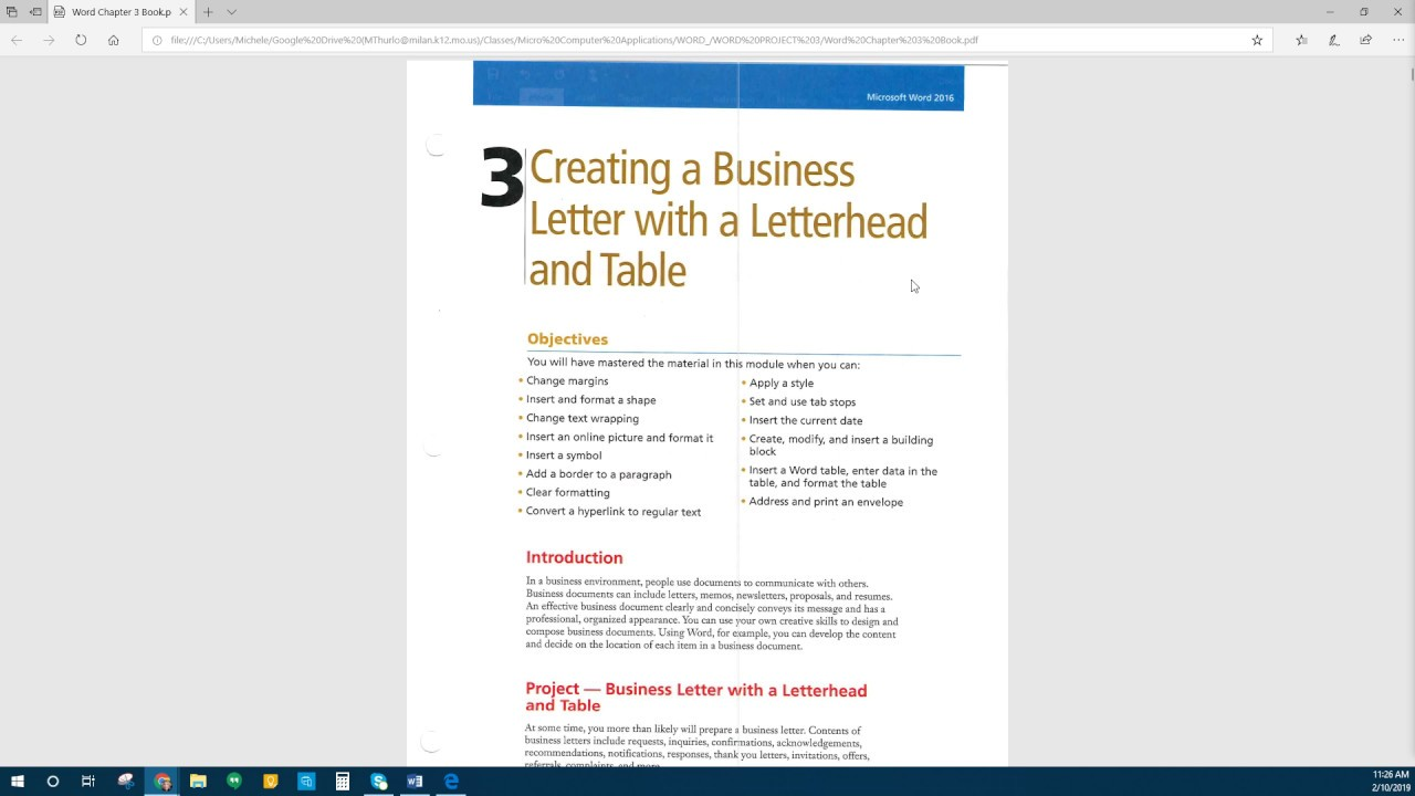 Creating A Business Letter from i.ytimg.com