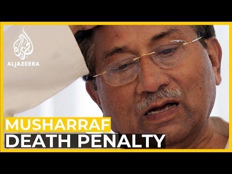 What does Musharraf's death sentence mean?