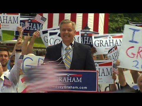 Lindsey Graham launches US presidential bid
