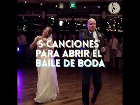 5  canciones para abrir el baile de boda