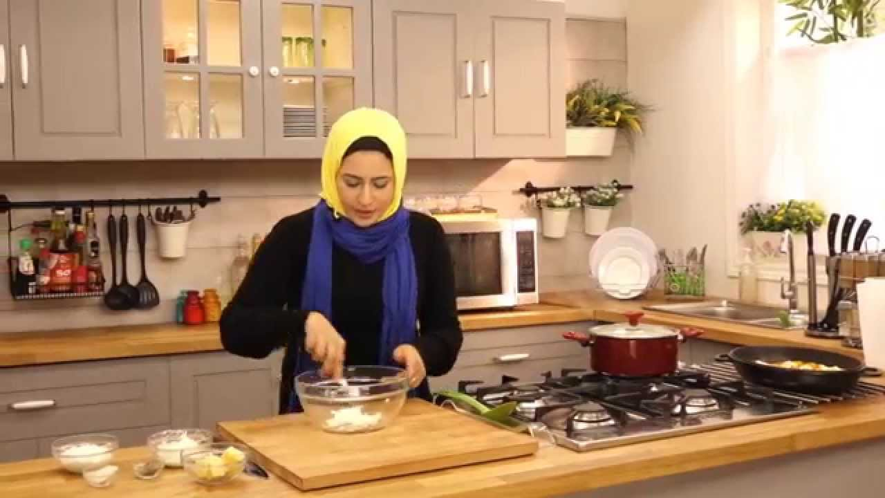 شكشوكة السبانخ والجبنة الفيتا وبطاطس بوريه لايت مع سمر حمدي في صحي (الجزء الثاني)