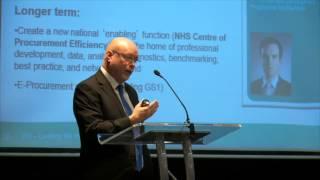 John Warrington, Department of Health - Presentation at NWC AHSN Procurement event
