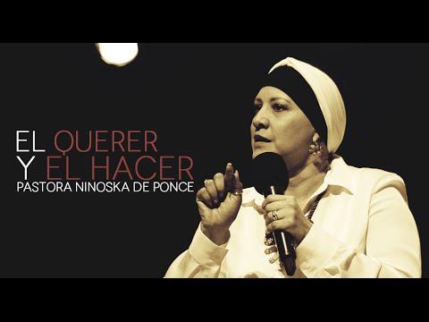 Pastora Ninoska de Ponce El Querer Y El Hacer viernes 11 9 2015