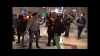 Taksim metrosundaki AKBİL kavgası kanlı bitti