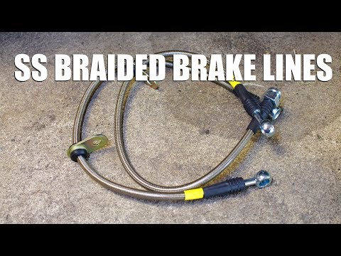 How to Install Stainless Steel Brake Lines