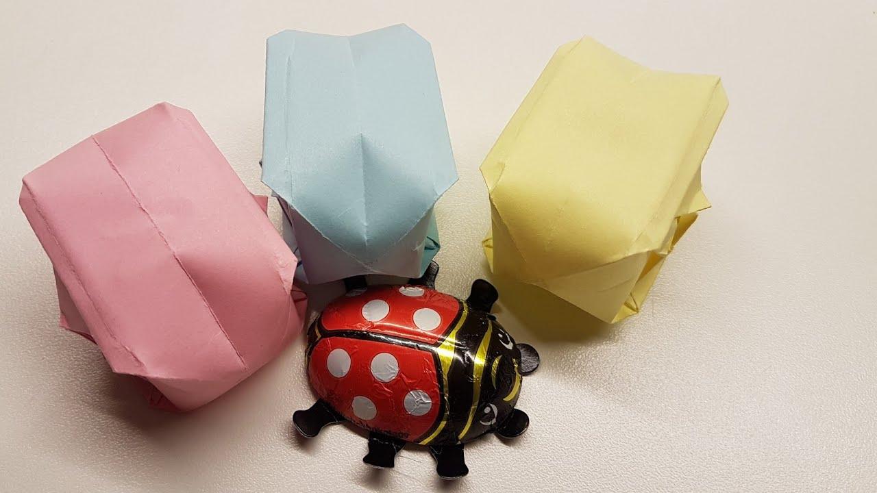 Ostereier Aus Papier Basteln Origami Eier