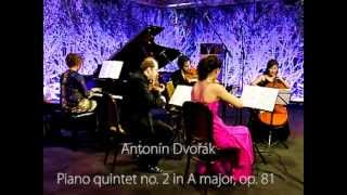 Antonín Dvořák - Piano quintet no. 2 in A major, op. 81 (4. Allegro)