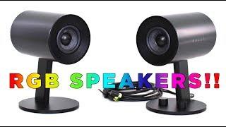 Razer Nommo Chroma Speakers - Yes, RGB with speakers!