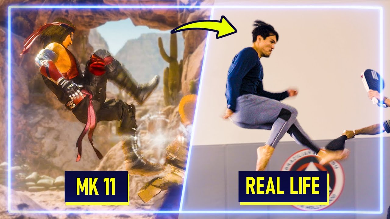 Martial Artists RECREATE moves from Mortal Kombat 11 Part 3 | Experts Try