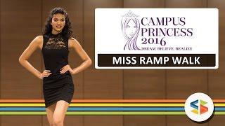 Alesia Raut - Miss Ramp Walk  Campus Princess 2016