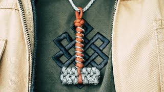 🔨Paracord Thor's Hammer Keychain Pendant | Paracord Mjolnir TUTORIAL | ARE YOU WORTHY?