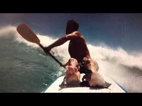 Lanai sessions - a day in the ocean (for my my)