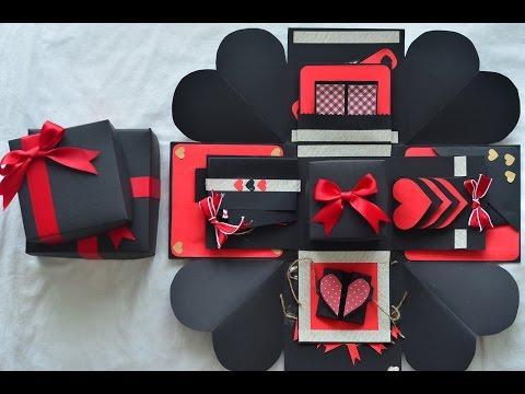 Explosion Box // Birthday Gift // Suprise Box
