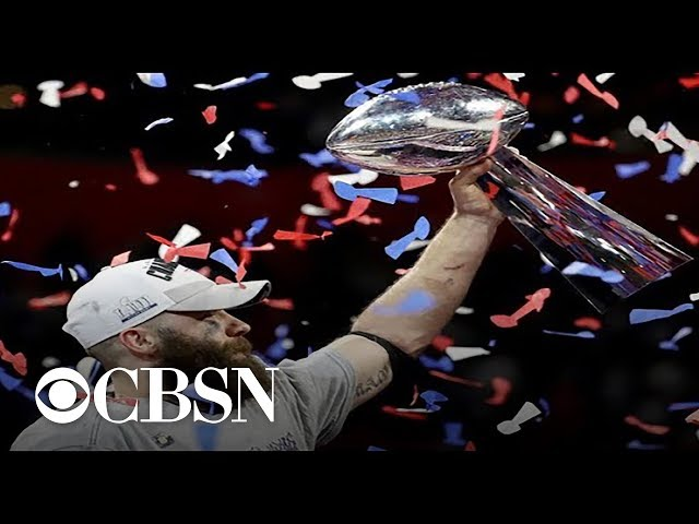 Julian Edelman, Super Bowl LIII MVP, reacts to Super Bowl victory