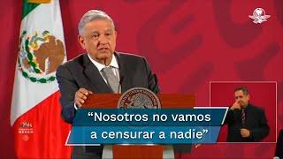 El presidente Andrés Manuel López Obrador respondió al desplegado firmado por más de 650 integrantes de la comunidad científica y cultural del país