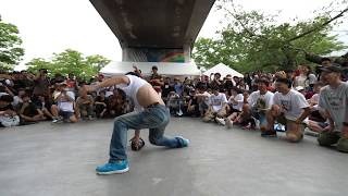 OLD SCHOOL TIME JAPAN HIPHOP HISTORY BBOYS of 40~50years living LEGEND! BBOY PARK 2017 FINAL DAY