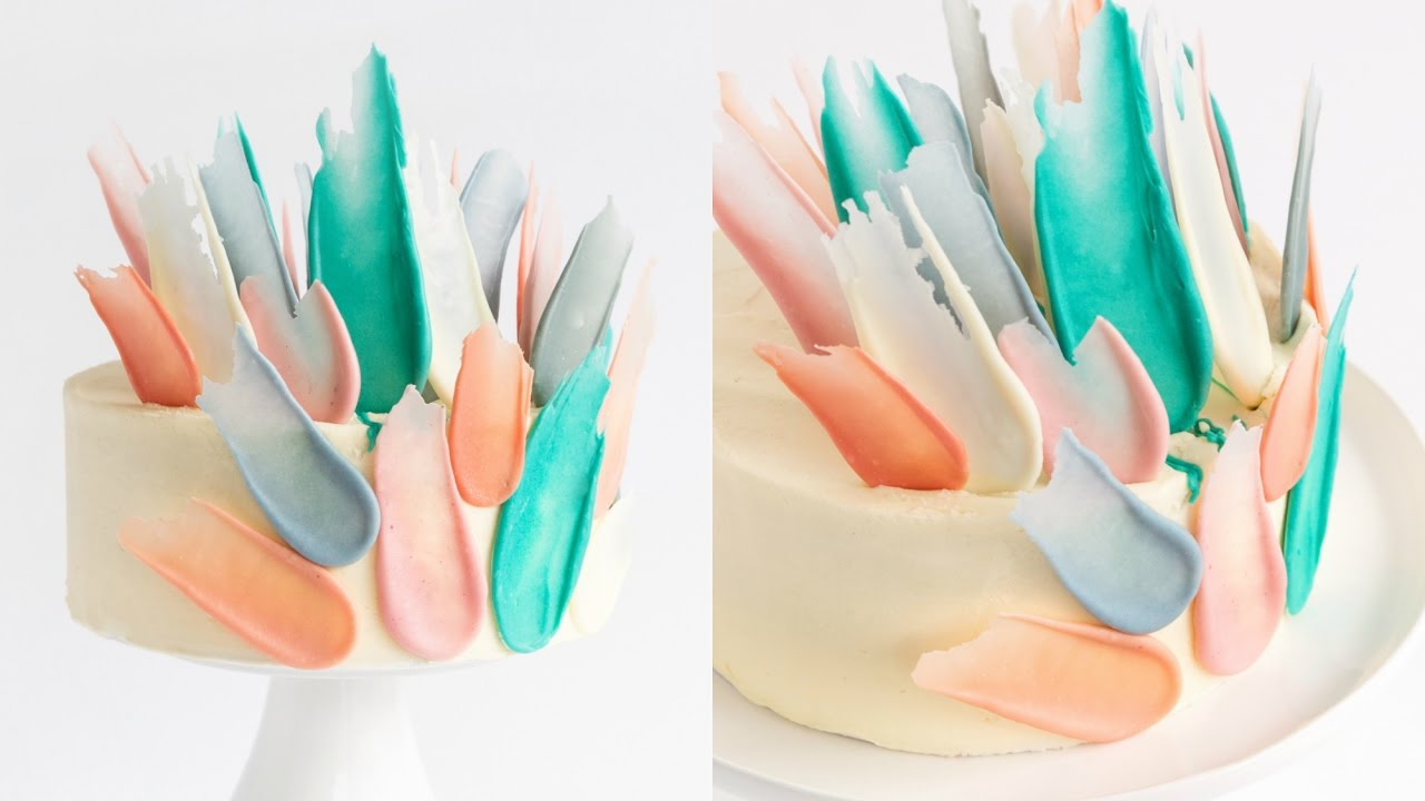 How To Make A Feather Cake